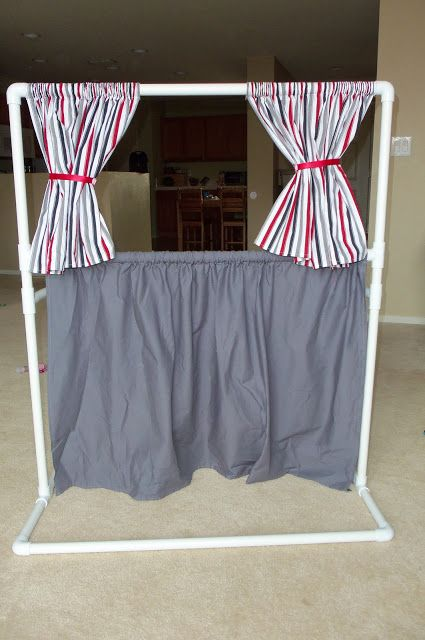 Puppet Theater PVC Pipe Frame