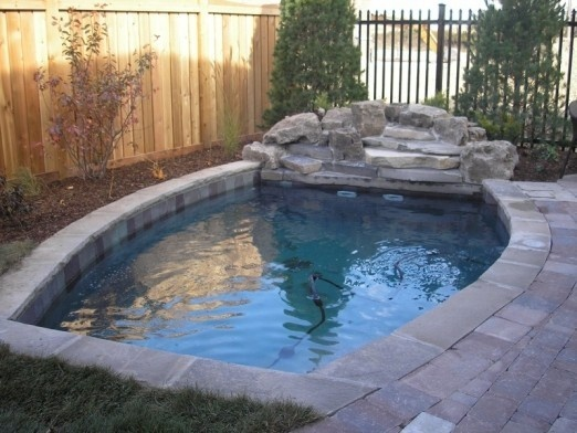 Small Pool Green Spaces Pools Ponds Patio Ideas