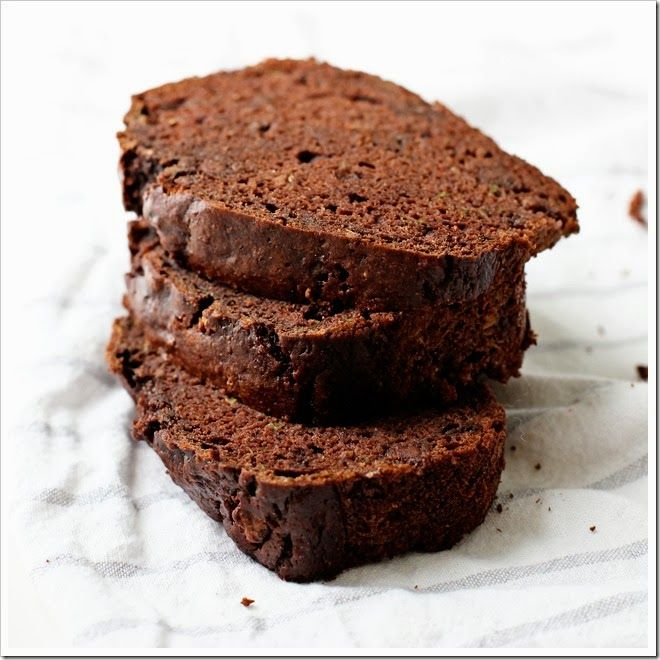 Chocolate Zucchini Bread I make it into cup cakes great way to hide a ...