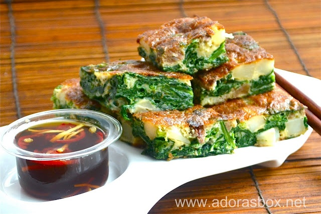 Spinach and Potato Torta | Feed the Moose | Pinterest
