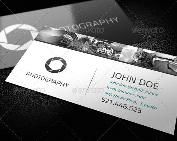 Cool photography business card graphic design pinterest for Cool photography business card