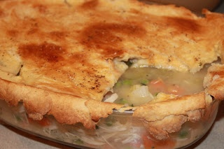 Light Chicken Pot Pie | Seizing Life One Measuring Cup At A Time | Pi ...