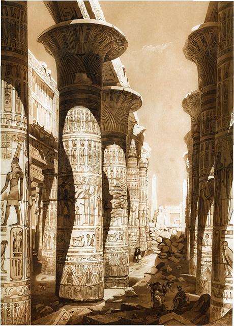 Hector Horeau - Salle Hypostyle de Karnac, Egypte F75b99e2f25e374f2e5dcef38d9fccfb