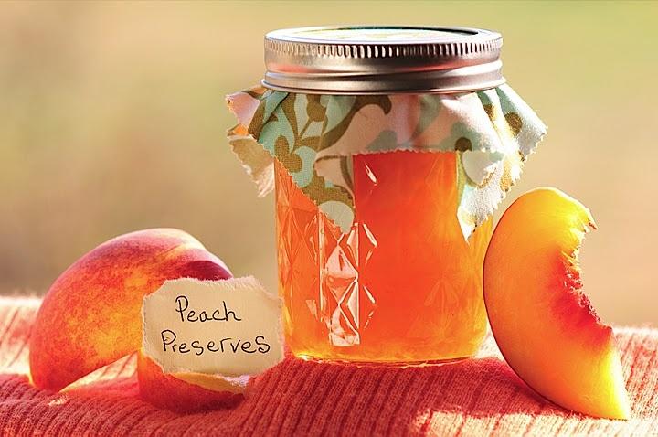pretty peach preserves