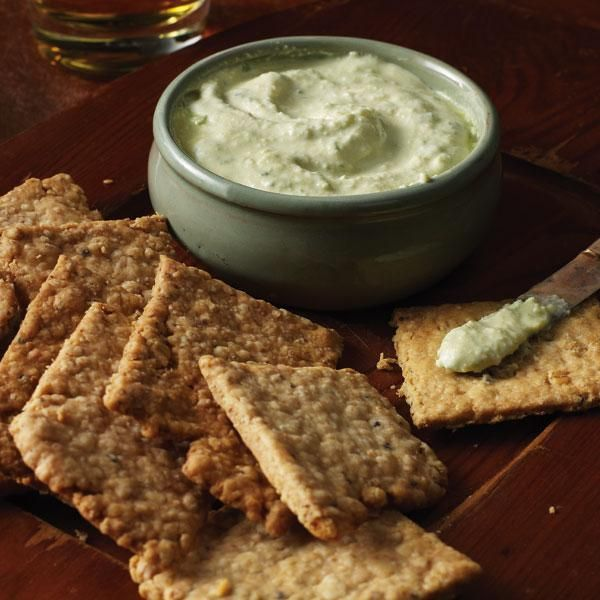 Whisky Oat Crackers #StPatricksDay | Appetizers | Pinterest