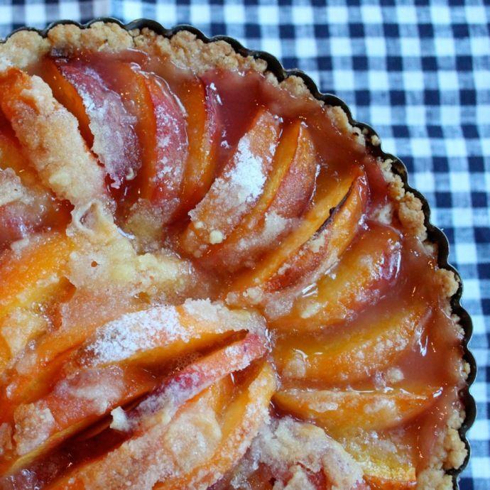 Peach Tart | Peach Recipes | Pinterest