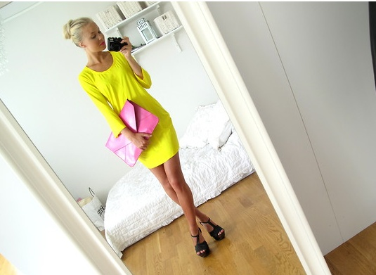 + pink & yellow +