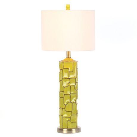 lime green retro ceramic table lamp lime pinterest. Black Bedroom Furniture Sets. Home Design Ideas