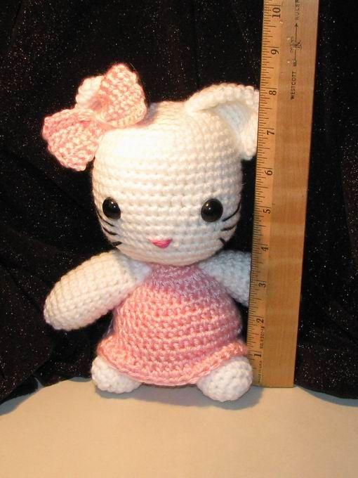 Free Crochet Patterns Hello Kitty : Free hello kitty crochet pattern Crochet Pinterest