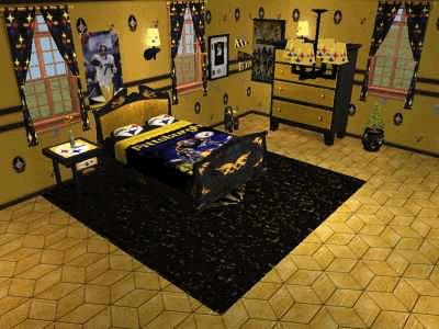 ashton 39 s steelers bedroom unanswered prayers pinterest