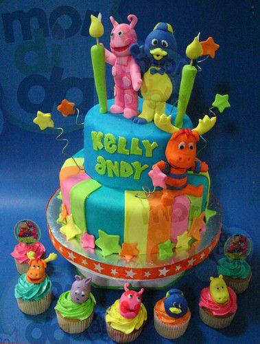 Backyardigans, cakes & cupcakes