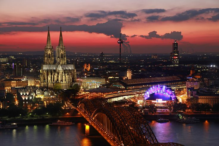 Koeln Bei Nacht Favorite Places In Germany And The
