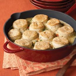 chicken and biscuit pie
