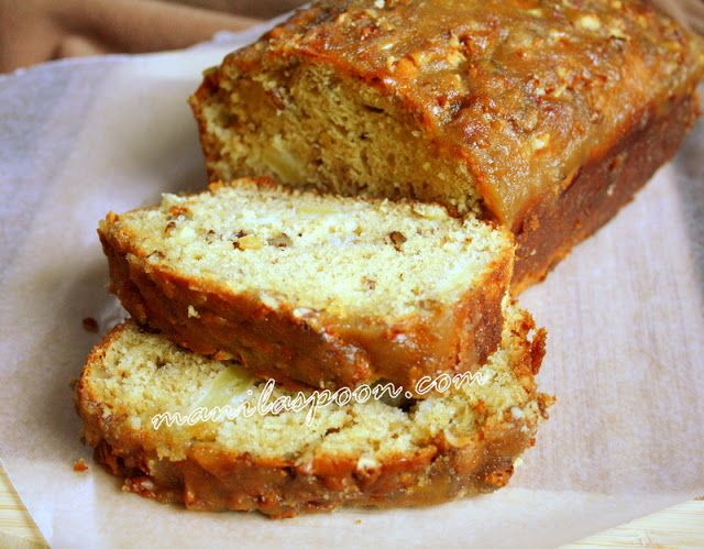 Apple Praline Bread ~ Recipe winner!
