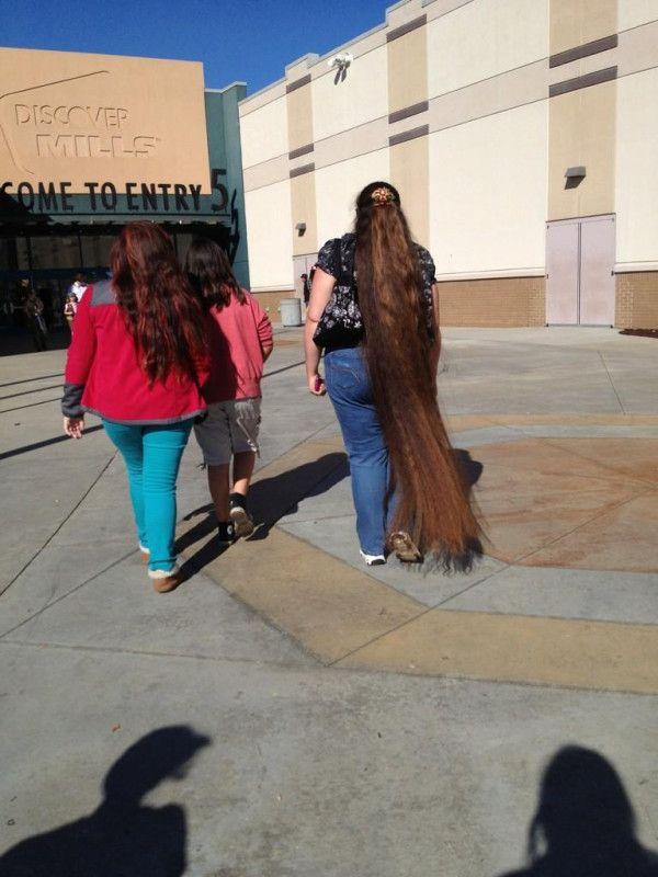 Long Hair Down To The Ground Long Hair Ankles And Longer