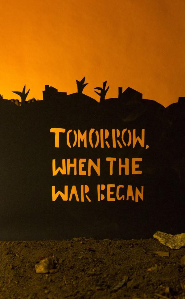 tomorrow when the war began essay ellie