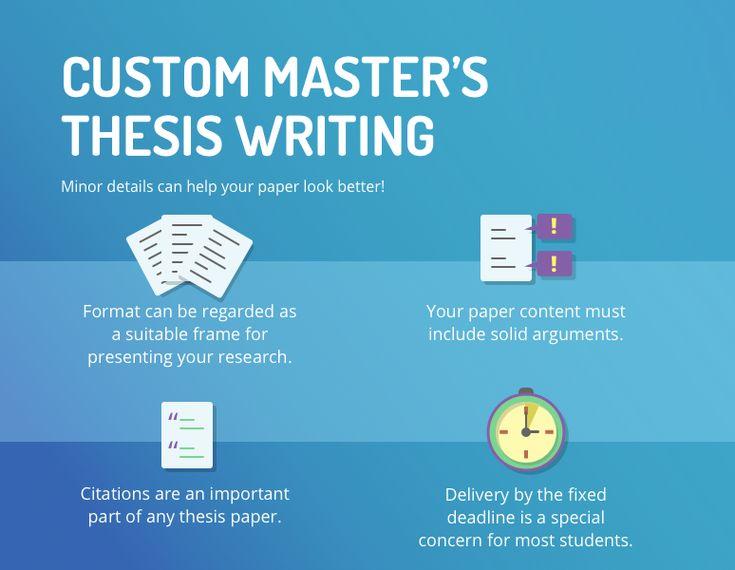 Write my master thesis australia