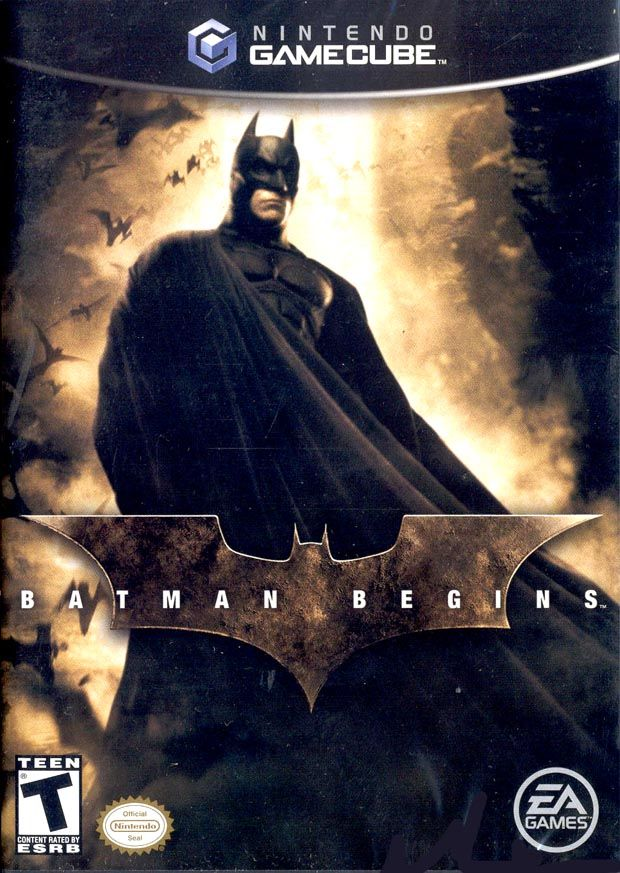 batman begins sur game cube