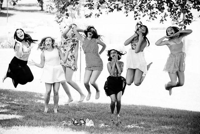 16th birthday. Girls just wanna have fun!