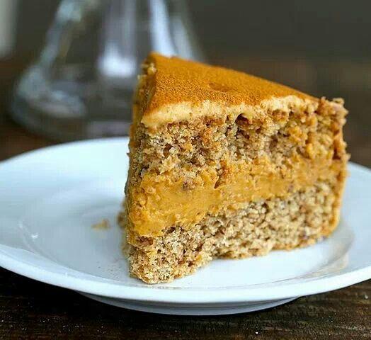 Pumpkin Mousse Cake | Cake | Pinterest
