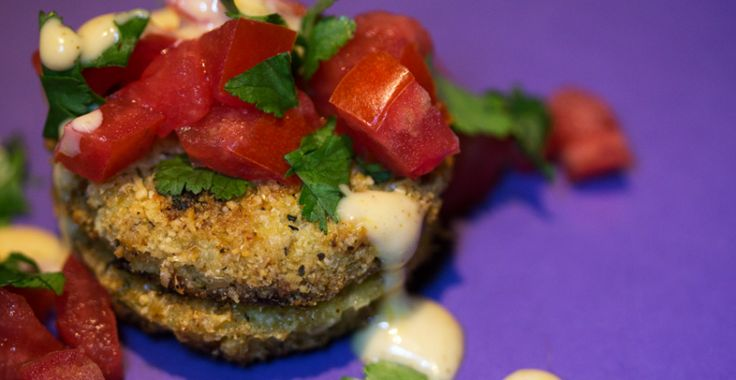 Paleo Fried Green Tomatoes, A Southern, Oven-Baked Breakfast