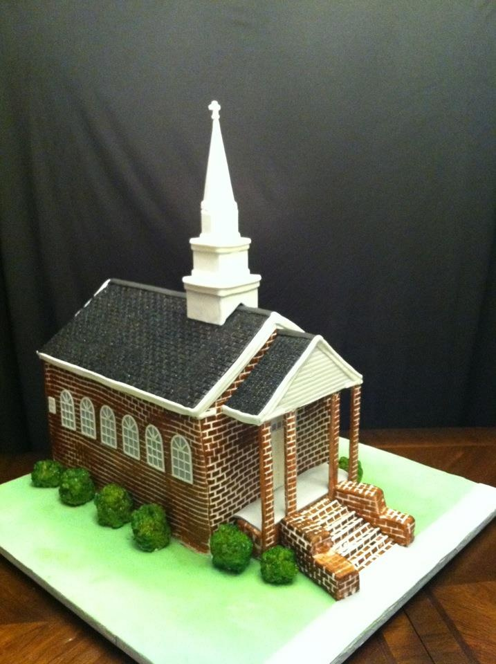 Cake Ideas For Church Anniversary : Pin by Great Blessings on Christmas Cake Ideas Pinterest