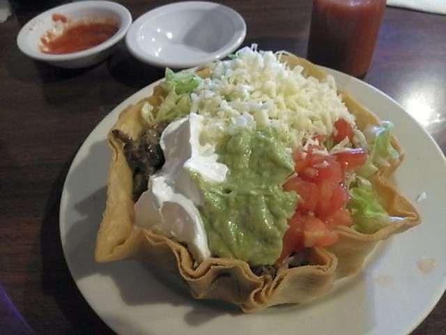steak taco salad | Foods Created | Pinterest