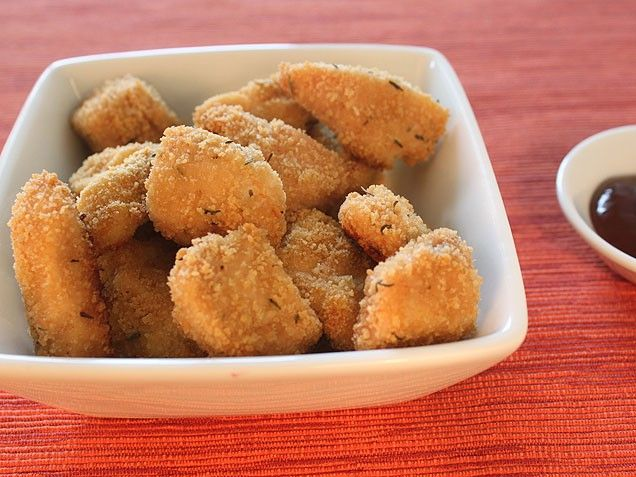 easy healthy baked chicken nuggets--- small amount of ingredients ...