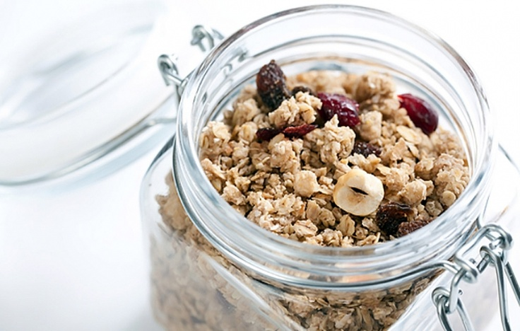 Cranberry Granola - a holiday favourite, great for DIY gifts / DIY ...