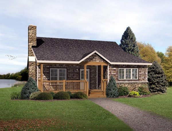 Country ranch house plan 49192 for Ranch country home plans
