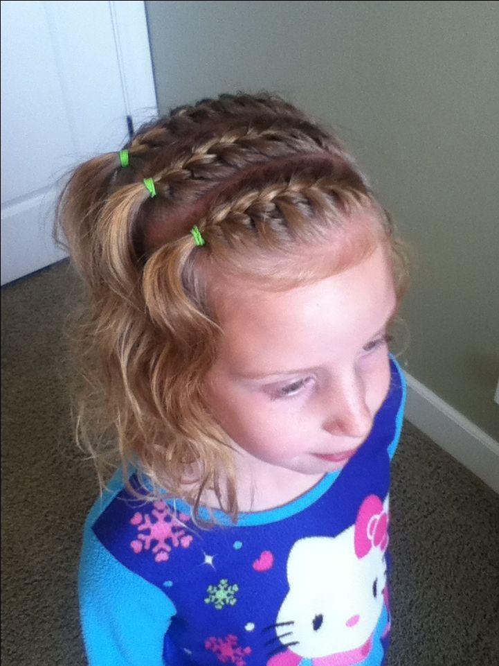 Easy Little girl hairstyle hair