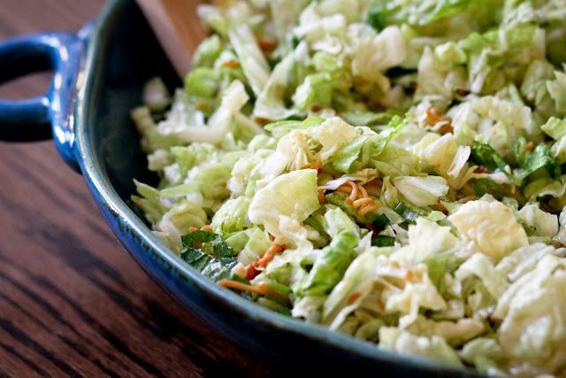 Napa Cabbage Salad With Buttermilk Dressing Recipes — Dishmaps