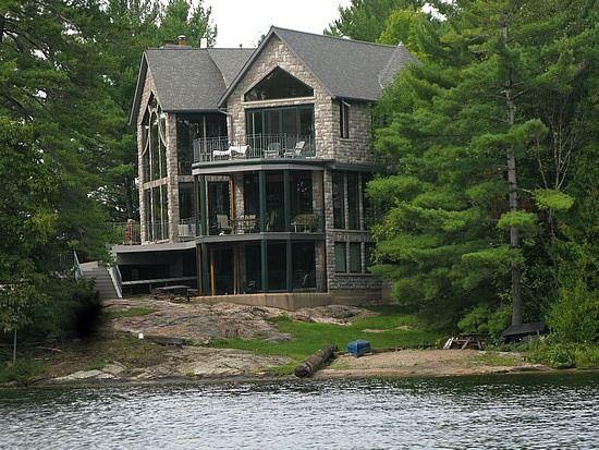 Cool Lake House Awesome Houses Pinterest