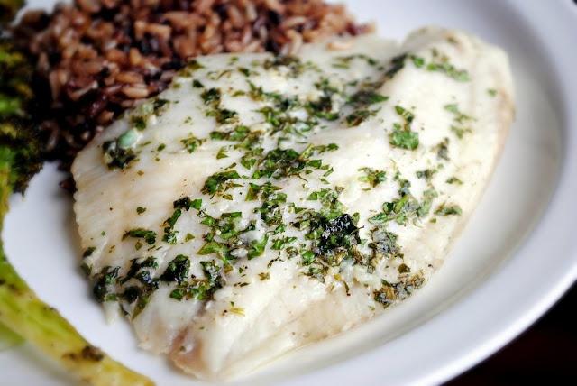 Lemon-Garlic Tilapia   Seafood   Pinterest