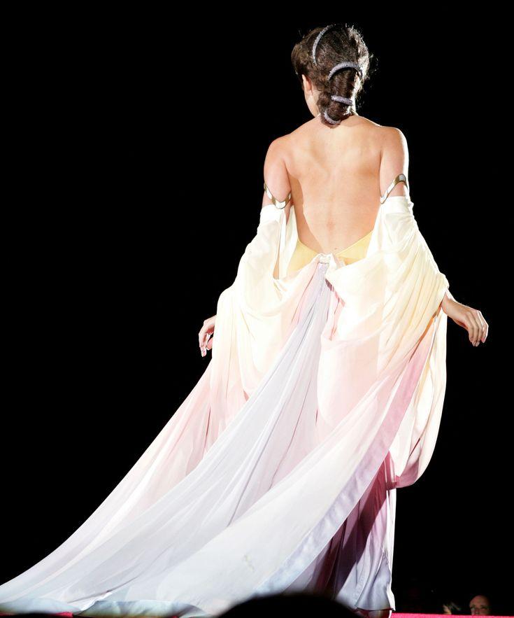 Back Of The Padme Dress Star Wars Costume Pinterest