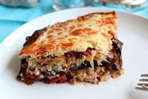 Vegetarian Moussaka | Lots of Dinner Recipes | Pinterest