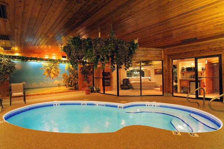 Sybaris Chalet Swimming Pool Suites Indianapolis Indiana Pinter