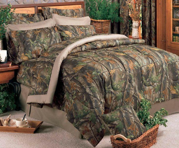 realtree hardwoods camo comforter set jhe 39 s log furniture place