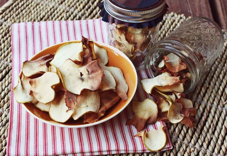 homemade apple chips!