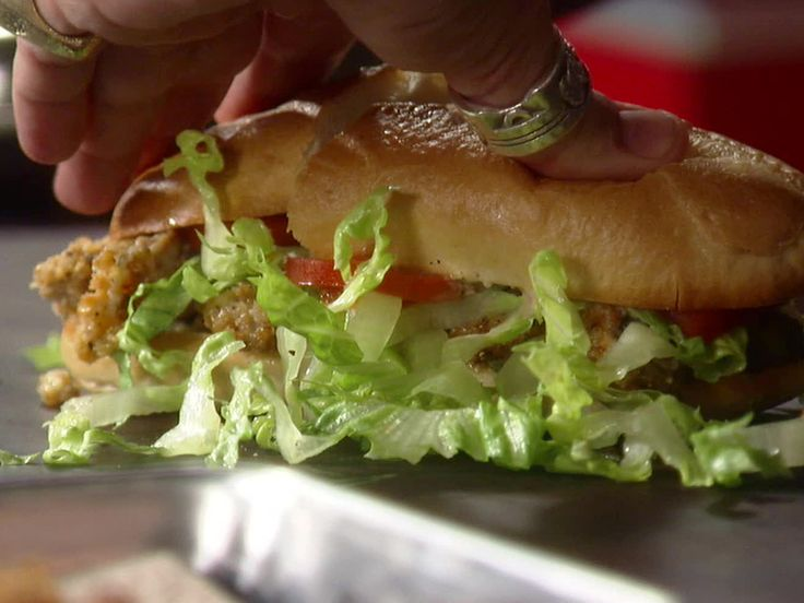 Oyster Po' Boy from FoodNetwork.com