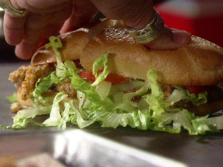 Fried Oyster Po'boys Recipe — Dishmaps