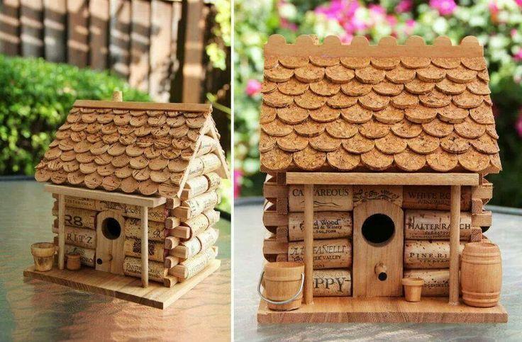 Pin by allison kennedy on diy wine cork crafts pinterest Wine cork birdhouse instructions