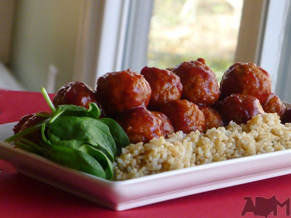 Ultimate Party Meatballs Recipe | Me want food | Pinterest