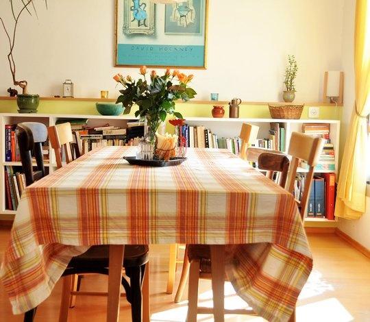 Geel, zomers  woonkamer  Pinterest