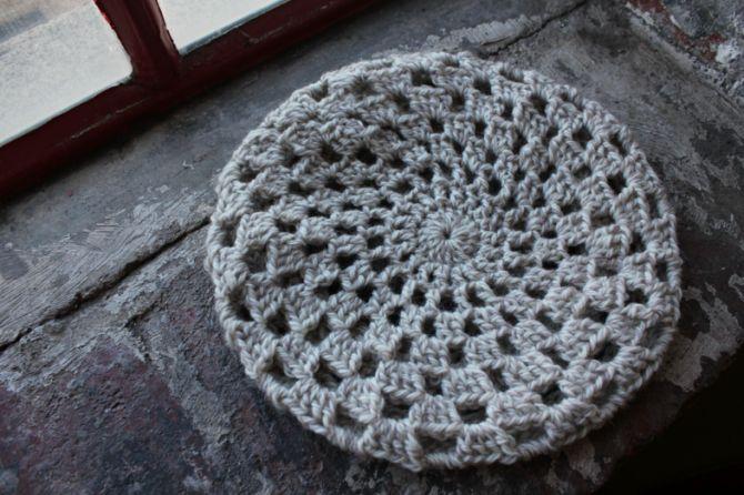 Free Sunburst Beret crochet pattern Sew Cute! Pinterest