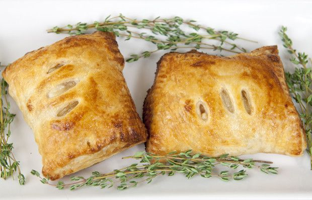 Chanterelle hand pies. Chanterelle mushrooms, cream, gruyere, and ...