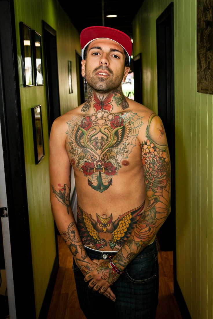 I like all his old school tats,  Work by tattoojersey