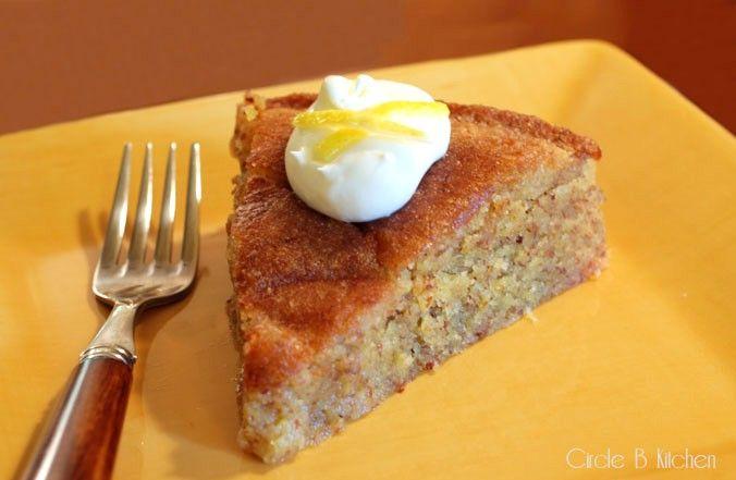Lemon Polenta Cake | Cakes, Cupcakes and Pie | Pinterest