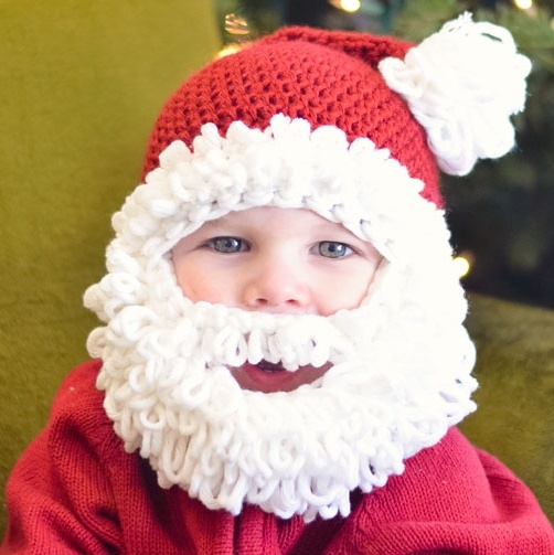 Crochet Santa Hat And Beard Pattern Free ~ manet for .