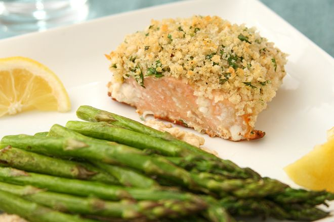 panko-crusted salmon | Yes, more recipes! | Pinterest